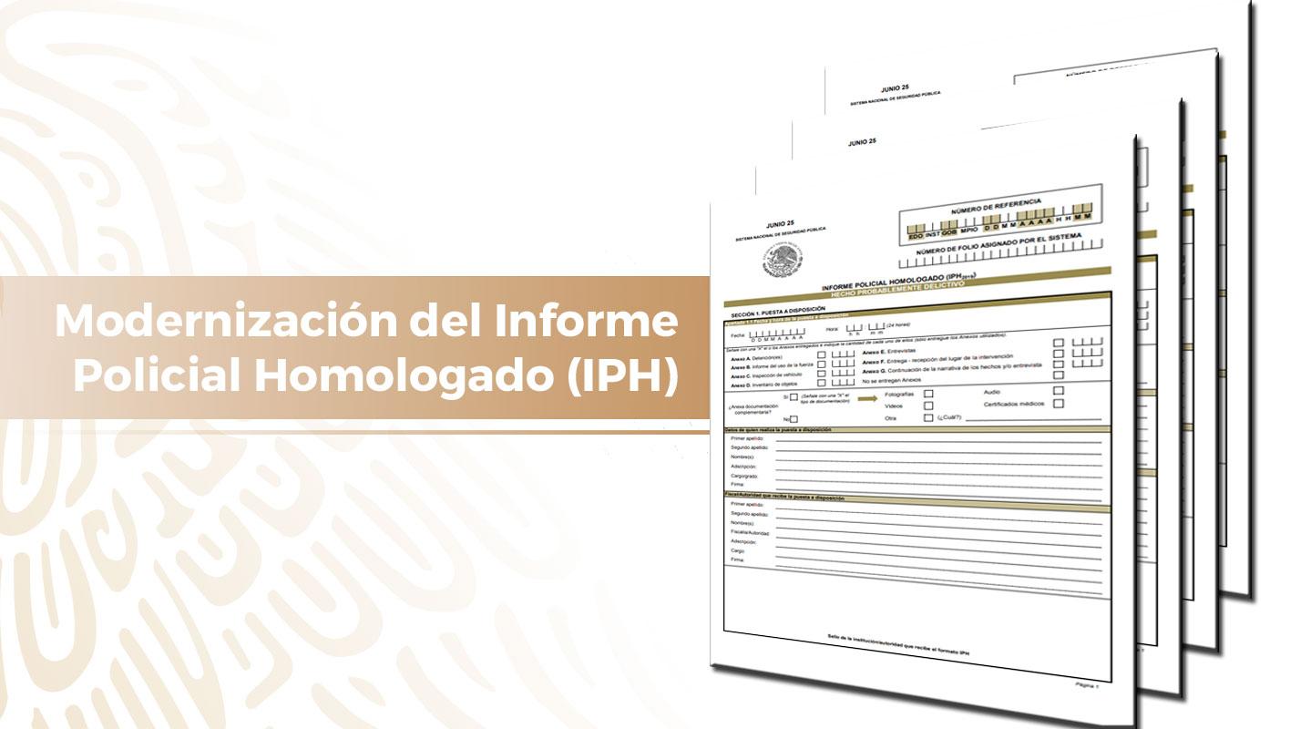 Informe Policial Homologado (IPH)