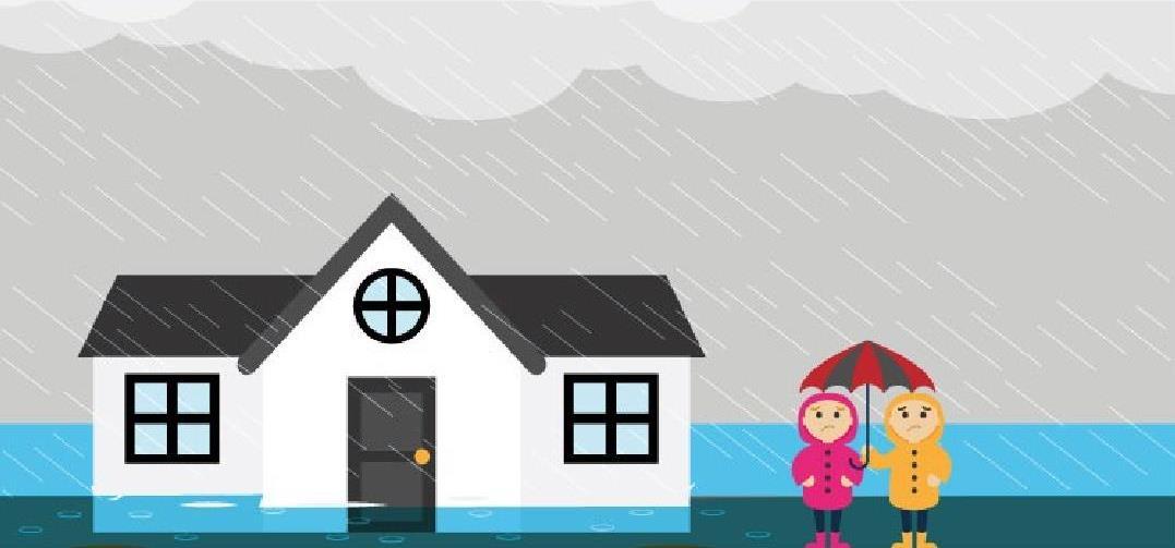 Evita inundaciones, ¡prepárate!