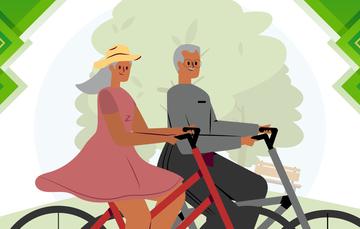 El envejecimiento activo, según la OMS, es el proceso de optimización de las oportunidades de bienestar físico, social y mental durante toda la vida.