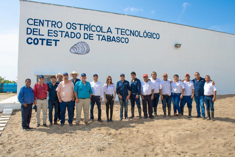 La Conapesca retomará el modelo exitoso de cultivo de Tabasco para potenciar en el territorio nacional la productividad del sector de los moluscos.
