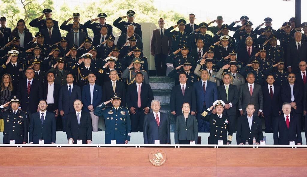 Despliegue por la Paz: Ceremonia Oficial de Inauguración de la Guardia Nacional