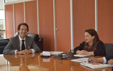 La CNPSS y Fundación Teletón México A.C. se reúnen para dar continuidad a las acciones en favor de las personas con discapacidad