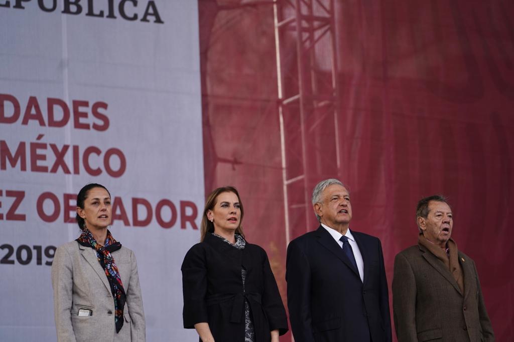 Informe de actividades del presidente de México desde el Zócalo de la Ciudad de México