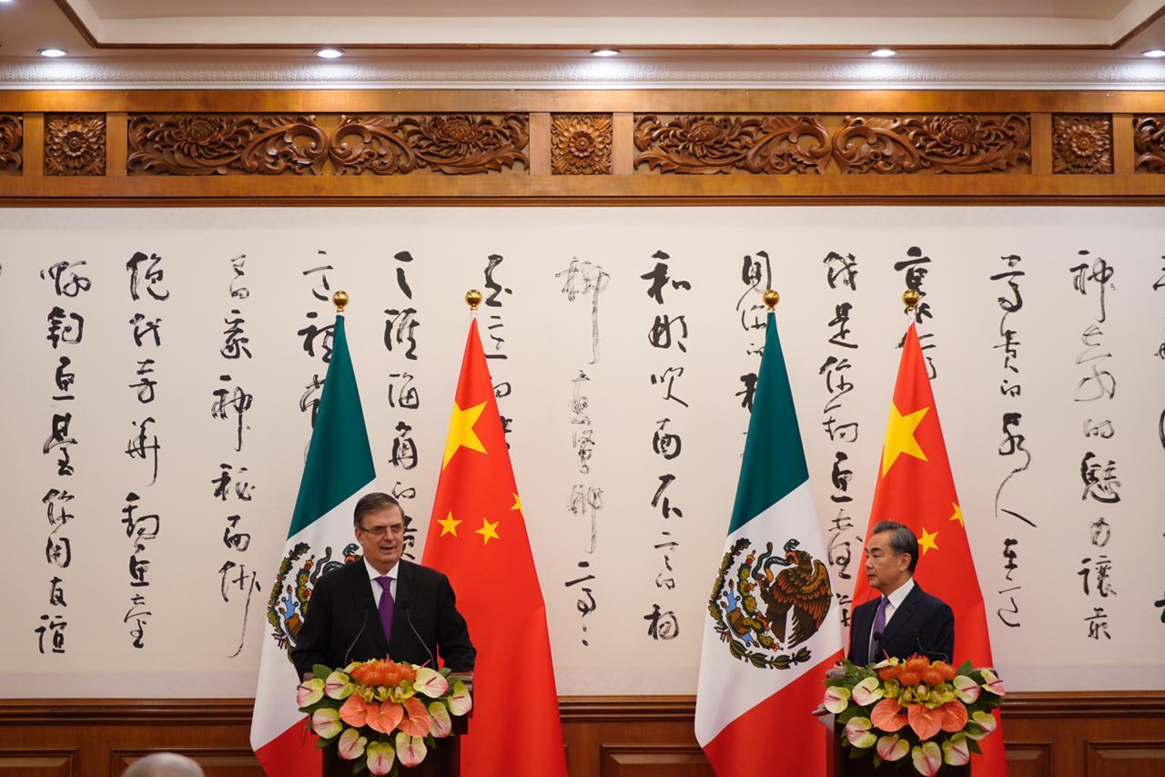 Concluye visita de trabajo a China del canciller Marcelo Ebrard