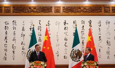 Foreign Secretary Marcelo Ebrard concludes visit to China