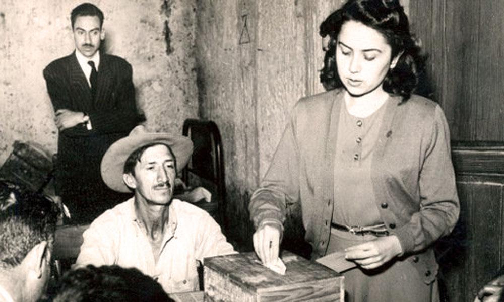 64° aniversario del voto de la mujer en una elección federal en México
