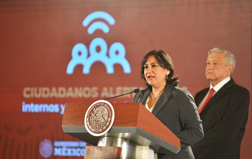 En la conferencia del Presidente, Función Pública presenta avances del programa Ciudadanos Alertadores de la Corrupción