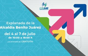 """Mañana inicia la sexta edición de la Feria de AFORES 2019 """"Promoviendo el Ahorro Voluntario""""."""