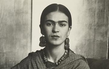 Frida Kahlo en Nueva York