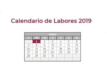 Calendario de Labores 2019