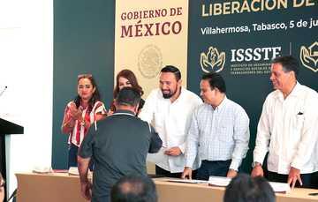 En Tabasco, el Vocal Ejecutivo aseguró que el Fondo coadyuvará para el empoderamiento económico y de vivienda en el sur del país