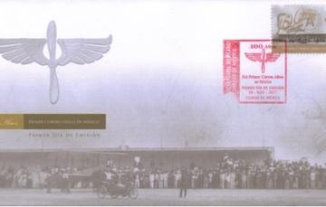 Aniversario Del primer Correo Aéreo: 6 Julio de 1917