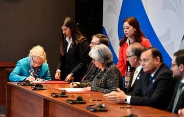 Se lleva a cabo Ceremonia de Suscripción de Declaraciones Conjuntas