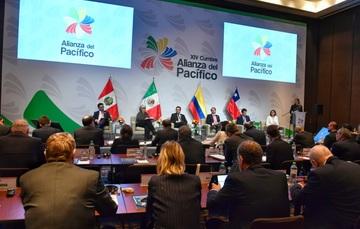 Participa la Secretaria de Economía en Mesa de Trabajo de los Ministros de Comercio con Estados Observadores de la Alianza del Pacífico