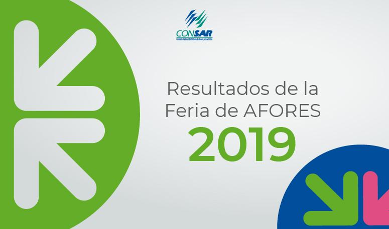 Resultados de la Feria de AFORES 2019