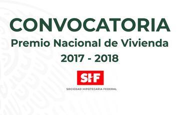 PREMIO NACIONAL DE VIVIENDA 2017 - 2018