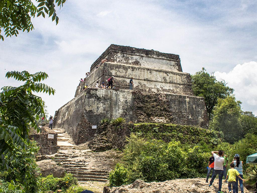 Pirámide del Tepozteco. Tepoztlán, Morelos.