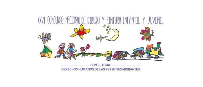 Arte del 26º Concurso Nacional de Dibujo y Pintura Infantil y Juvenil 2019