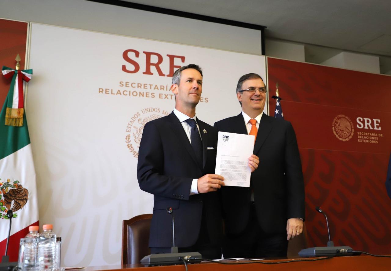México y Estados Unidos anuncian avances en el acuerdo de inversión en nuestro país