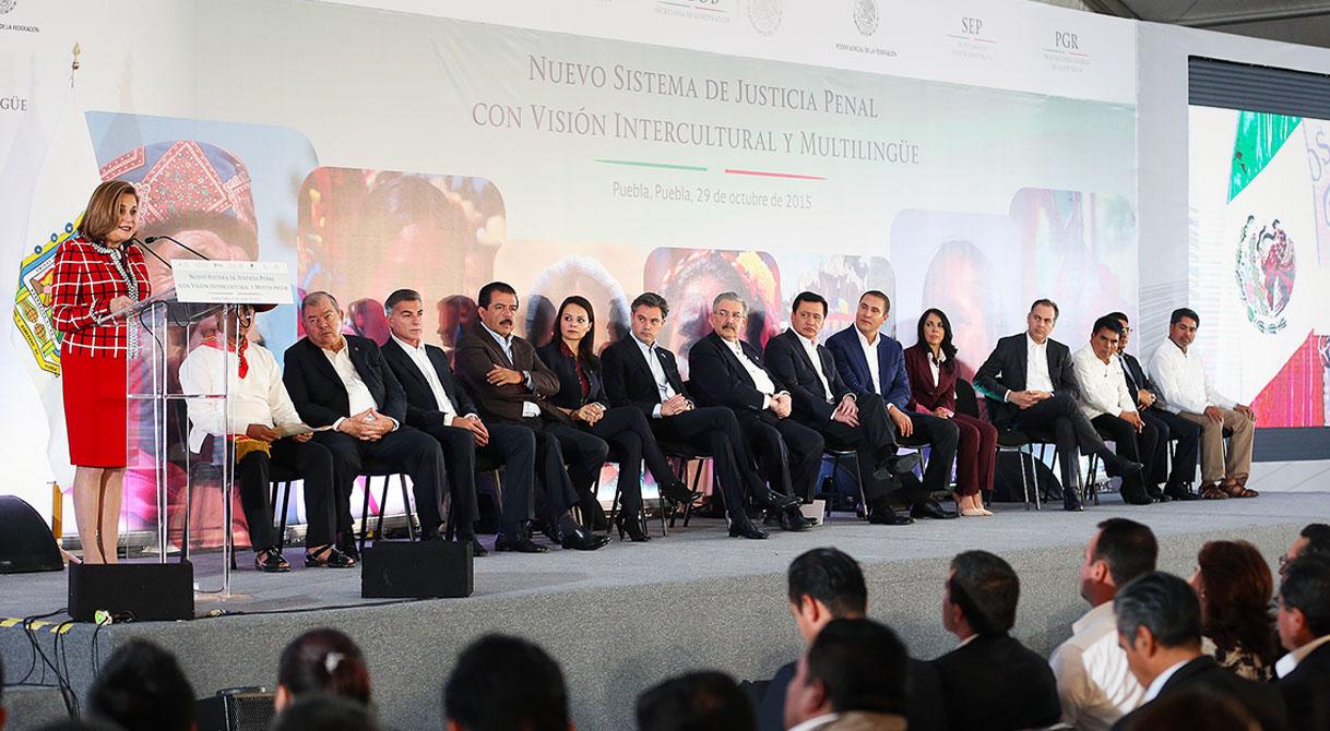 Implementación de Justicia Penal Acusatoria con Perspectiva Intercultural y Multilingüe