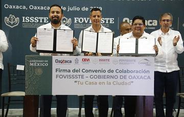 FOVISSSTE anuncia plan para abatir el rezago de la vivienda en México