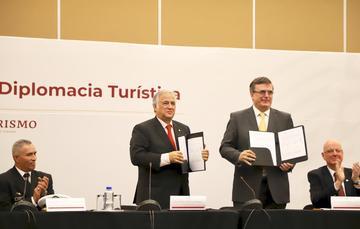 Instalan SECTUR Y SRE el Consejo de la Diplomacia Turística, para promover a México en el exterior