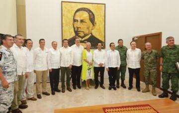 The federal government discusses CDP with governors of southern states