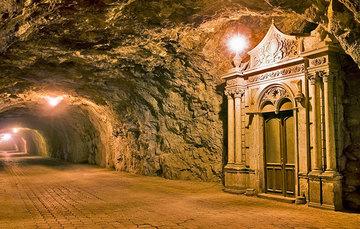 Túnel de Ogarrio, Real de Catorce, San Luís Potosí.