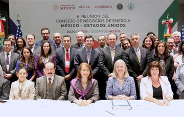 Se realizó la 6ª Reunión del Consejo de Negocios de Energía México – Estados Unidos