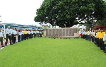 La CONAFOR tiene un muro de los caídos en sus instalaciones en Zapopan, Jalisco. En él se han colocado un total de 257 placas con los nombres de las personas fallecidas desde 1969, 18 de ellas fenecieron en la temporada crítica de este año.