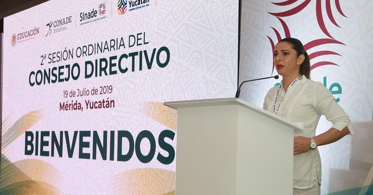 Inauguran en Yucatán la Segunda Sesión Ordinaria del Consejo Directivo SINADE 2019.