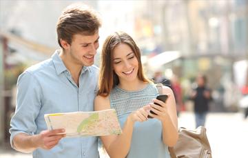 Uso de datos al viajar