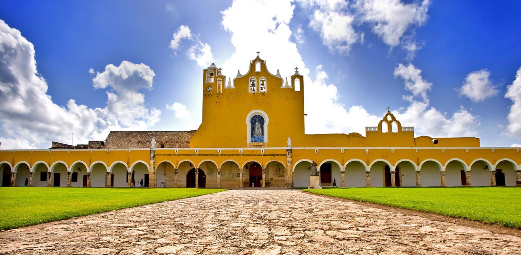 Ex Convento de San Antonio de Padua, Izamal, Yucatan