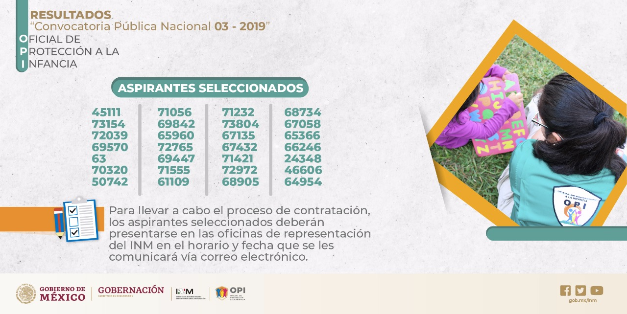 Convocatoria Pública Nacional 03 - 2019