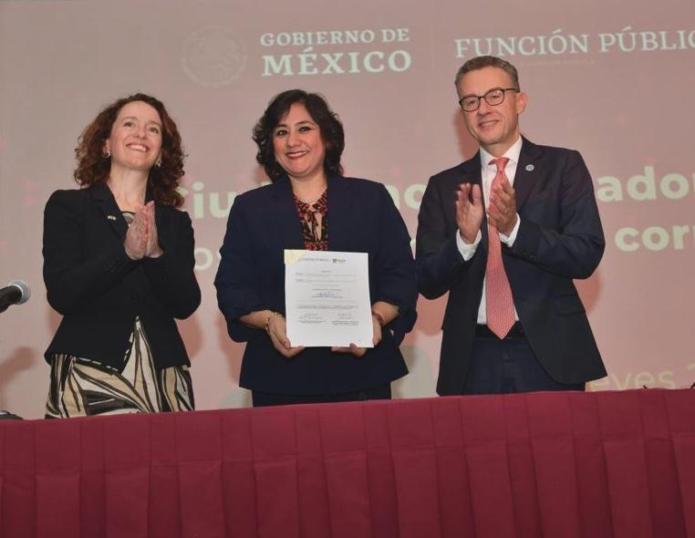 Función Pública presenta programa inédito para la protección de alertadores de la corrupción en México