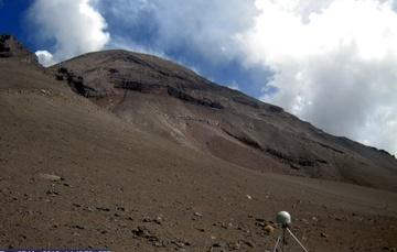 Monitoreo geodésico del volcán Popocatépetl