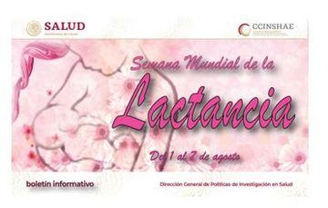 Semana mundial de la Lactancia 1 a 7 de Agosto