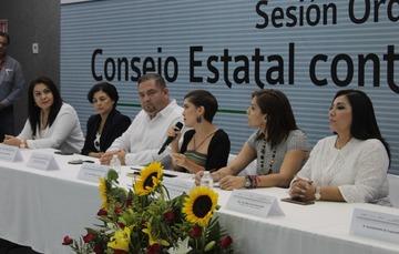 Primera Sesión Ordinaria del Consejo Estatal contra las Adicciones del Estado de Colima