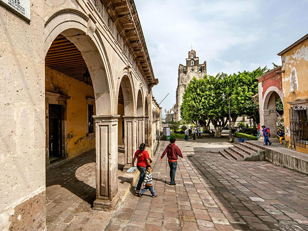 Vista de Yuriria, Guanajuato