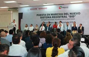 Puesta en marcha del nuevo Sistema Registral (SID) en Hidalgo