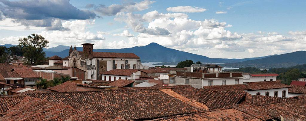 Vista de Pátzcuaro, Michoacán
