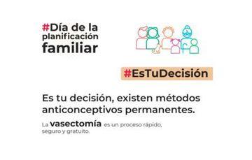 La vasectomía es un método anticonceptivo permanente para el hombre.