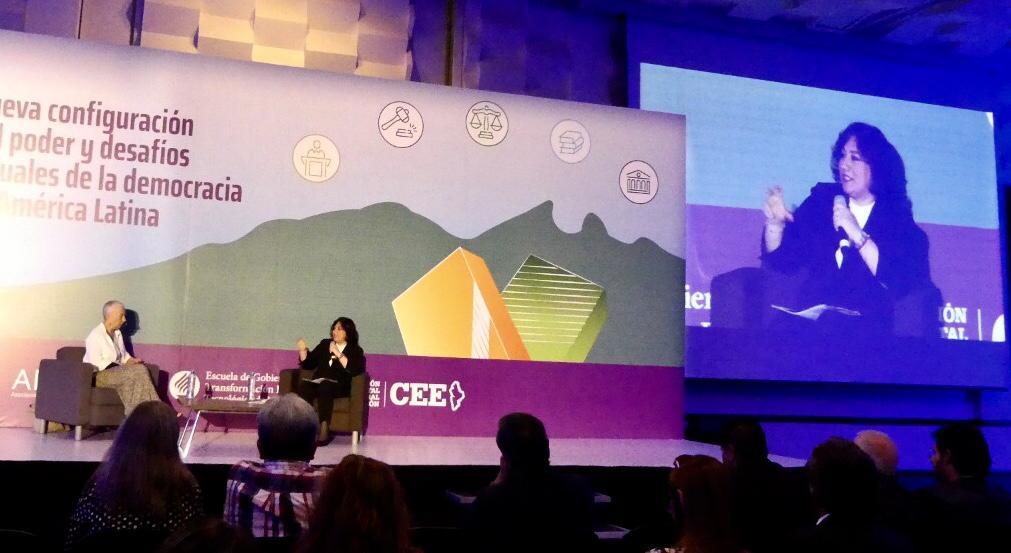 En Monterrey, Secretaria de la Función Pública expone enfoque para combatir la corrupción