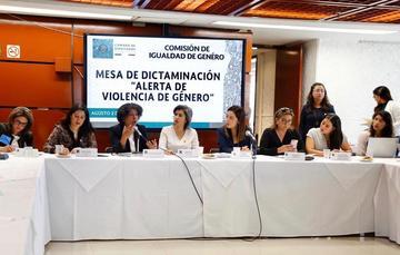 """Mesa de Dictaminación """"Alerta de Violencia de Género contra las Mujeres"""""""