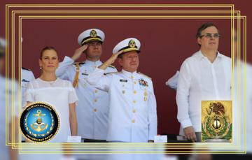 Se gradúan 136 cadetes de la Heroica Escuela Naval Militar