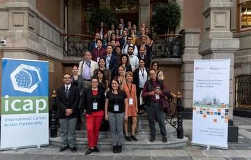 """INECC estuvo presente en el evento """"Academia de Sistemas de Comercio de Emisiones de México"""" (ETS Academy México por sus siglas en inglés) organizado por la SEMARNAT"""
