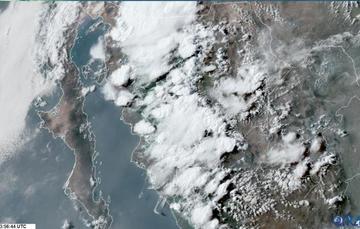 Las lluvias generadas por el monzón suelen ser torrenciales y de corta duración