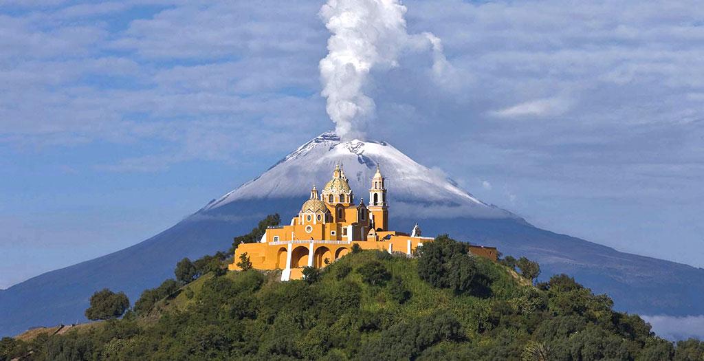 Santuario de la Virgen de los Remedios, Cholula, Puebla