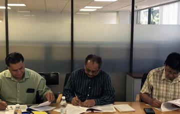 Firma de convenios entre la Subsecretaria de Desarrollo Rural y el INCA Rural A.C.