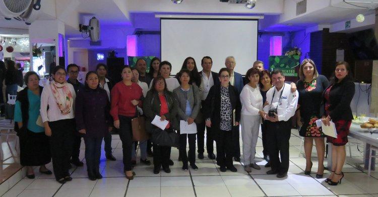 Asistentes 1er Encuentro Familia Pronósticos, Ciudad de México.